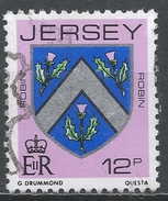 Jersey 1981. Scott #258 (U) Robin Family Arms * - Jersey