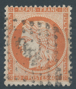 Lot N°35610   N°38, Oblit PC Du GC 1883 JONZAC (16) - 1870 Siege Of Paris