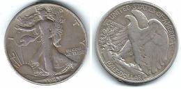 EE.UU. USA HALF DOLLAR 1943 PLATA SILVER T DAÑADA - EDICIONES FEDERALES