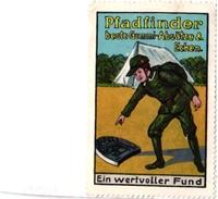 3 Poster Stamps Cinderella   SCOUT Padvinder  PFADFINDER  Pub  Gummi ABSATZE - Movimiento Scout