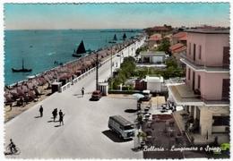 BELLARIA - LUNGOMARE E SPIAGGIA - RIMINI - 1959 - Rimini