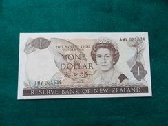 Billete One Dollar  Nueva Zelanda 1989  P169c UNC - Nueva Zelandía
