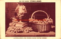 Jus De Raisin CHALLAND - Challant Du Raisin Dans Votre Verre - Vignes