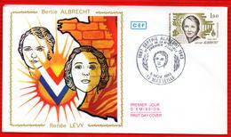 HEROINE DE LA RESISTANCE RENEE LEVY - Seconda Guerra Mondiale