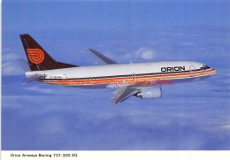 Orion - Boeing 737 - 1946-....: Moderne