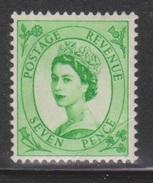 GREAT BRITAIN - Scott # 326 Mint Never Hinged - Nice Stamp With Good CV - 1952-.... (Elizabeth II)