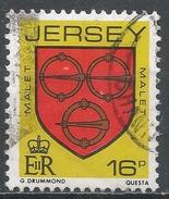 Jersey 1985. Scott #381 (U) Malet Family Arms * - Jersey