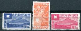 CHINE - SHANGAI & NANKIN - Occupation Japonaise - Y&T 88**, 90*, 91* - Scott 9N101, 9N103, 9N104 - 1943-45 Shanghai & Nankin