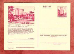 P 415 Wien Erdberg, Abb: Bad Schallerbach, Ungebraucht (36068) - Postwaardestukken