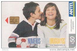 URUGUAY - Numeros Uruguayos(415a), 11/05, Used