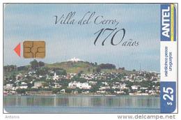 URUGUAY - Villa Del Cerro(372a), 12/04, Used