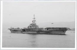 Navire Marine Nationale -Le Porte-Avions Clémenceau  En Mission Salamandre Et Cachet Du PA De 1990 - Militaria