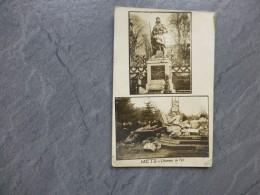 57 METZ Guerre 14-18 L'homme De Fer Abattu, CP Photo   ; Ref 437 - Metz