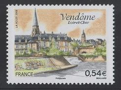 2008 - TIMBRE NEUF - Vendôme (Loir-et-Cher) - N° YT : 4143 - Frankreich