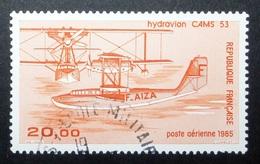 FRANCIA 1985 - HYDROAVION CAMS 53 - YVERT PA 58 - USED - Aéreo