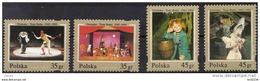 POLAND 1995 5OTH ANNIVERSARY GROTESKA FAIRY TALE & PUPPET THEATRE NHM Drama Performing Art Circus - 1944-.... République