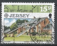 Jersey 1987. Scott #424 (U) Europa: Villa Devereux Modern Architecture * - Jersey