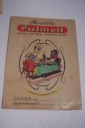 PROTEGE-CAHIER  -- Le Rat Des Villes Et  Le Rat Des Champs - ( Jean De La Fontaine) -PULMOLL - - Produits Pharmaceutiques