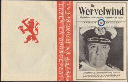 Nederlands  De Wervelwind 1e Jaargang No. 1 April 1942  R.A.F. - Boeken, Tijdschriften, Stripverhalen