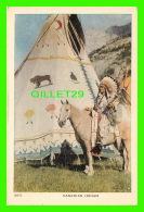 INDIENS - CANADIAN INDIAN CHIEF - TRAVEL IN 1968 - - Indiens De L'Amerique Du Nord