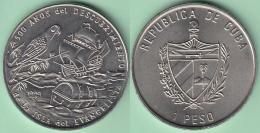 1994-MN-109 CUBA. 1$ 1994 CU-NI. 500 ANIV DESCUBRIMIENTO ISLA EVANGELISTA. COLON DESCUBRIMIENTO DISCOVERY. XF PLUS. - Cuba