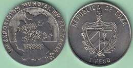 1998-MN-101 CUBA. 1$ 1998 CU-NI. EXPO MUNDIAL DE HANNOVER ALEMANIA. GERMANY MAP. XF PLUS. - Cuba