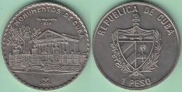 2001-MN-104 CUBA. 1$ 2001 CU-NI. MONUMENTOS DE CUBA. EL TEMPLETE PLAZA DE ARMAS. XF PLUS. - Cuba