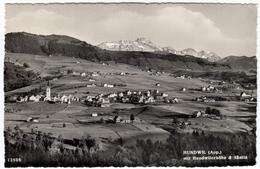 HUNDWIL - APP. - MIT HUNDWILERHOHE & SANTIS - 1961 - Formato Piccolo - AR Appenzell Rhodes-Extérieures