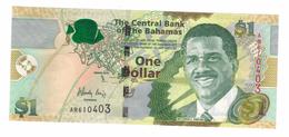 Bahamas 1 Dollar 2015, UNC  Free Ship. To USA. - Bahamas