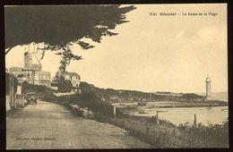 *** Cpa - BENODET La Route De La Plage - Voiture Automobile (2 Scans) - Bénodet
