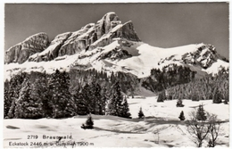 BRAUNWALD - ECKSTOCK M U. GUMMEN - GLARIS - 1957 - Formato Piccolo - GL Glaris