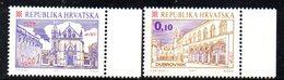 CROAZIA 1998 ,   Unificato N. 405/406  ***  MNH  Città - Croatie