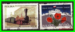 POLONIA - POCZTA - POLSKA -  SELLOS  USADOS , SIN DEFECTOS  - AÑO  1995 - 1944-.... República