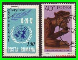 POLONIA - POCZTA - POLSKA -  SELLOS  USADOS , SIN DEFECTOS  - AÑO  1969 - 1944-.... República