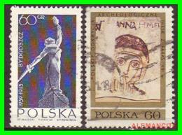 POLONIA - POCZTA - POLSKA -  SELLOS  USADOS , SIN DEFECTOS  - AÑO  1964 - 1944-.... República