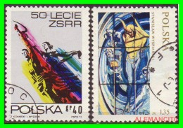 POLONIA - POCZTA - POLSKA -  SELLOS  USADOS , SIN DEFECTOS  - AÑO  1972 - 1944-.... República