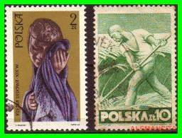 POLONIA - POCZTA - POLSKA -  SELLOS  USADOS , SIN DEFECTOS  - AÑO  1947 - 1944-.... República