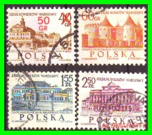 POLONIA - POCZTA - POLSKA -  SELLOS  USADOS , SIN DEFECTOS  - AÑO  1950 - 1944-.... República