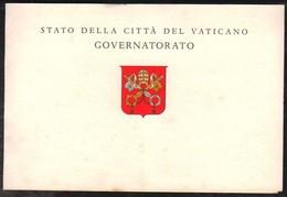 18243 Vaticano Folder Exposição Filatélica São Marino - Vaticano