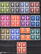 Wilhelmine,  4 X  466 / 477**, Cote 480 €, - 1891-1948 (Wilhelmine)