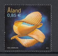 Aland MNH 2011 85c Potato Chips - Aland