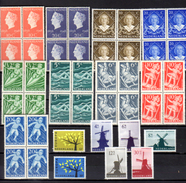 Wilhelmine, Enfance, Europa, Moulins à Vent, Entre 495 Et 773**, Cote 78 €, - 1891-1948 (Wilhelmine)