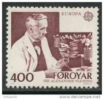 Faroer Faroe Islands 1983 Mi 85 YT 79 Sc 96 ** Alexander Fleming (1881-1955) Nobel Prize (1945) - Europa Cept - Nobelprijs
