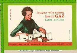 BUVARD : Equipez Votre Cuisine Tout Au Gaz - Electricité & Gaz