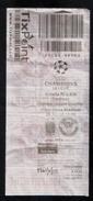 MALTA  - VALLETTA  F.C.  Vs   TORSHAVN     ( CHAMPIONS LEAGUE MATCH TICKET 28/06/16 ) - Match Tickets