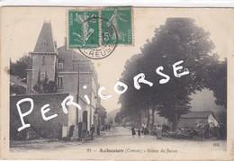 23  Aubusson  Route De Bauze   (atelier De Charron) - Aubusson