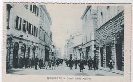 CPA - ITALIE - GOSSETO  - Corso Carlo Alberto - Grosseto