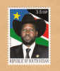SOUTH SUDAN 3.5 SSP Stamp President Salva Kiir, Part Of Unissued 2012 Set MNH Soudan Du Sud Südsudan - South Sudan