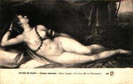 Tableau Peintre H - Joseph Heintz, Femme Endormie (nue - Pittura & Quadri