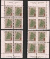 CANADA 1979 721** 4 CORNER BLOCKS CAT VALUE US$ 11.25 - 1952-.... Reign Of Elizabeth II